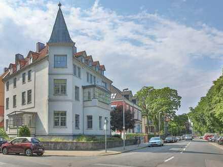 Hohenzollernstraße: helle 7-Zimmer-Wohnung mit ca. 200 m² in der Beletage direkt an der Eilenriede.