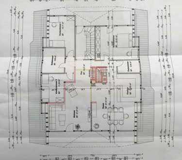 Exklusive großzügige 5-Zimmer-Maisonette-Wohnung mit Balkon und Einbauküche in Mitteltal