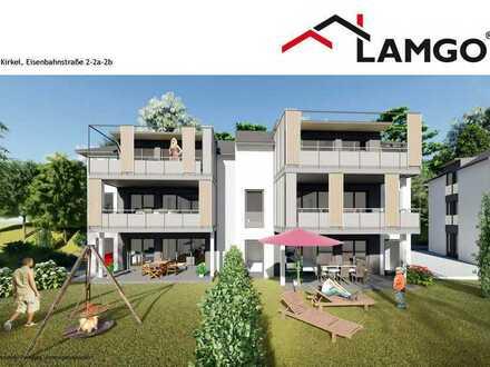 Neubauprojekt in Kirkel, Obergeschosswohnung