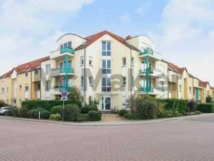 Kapitalanlage oder Eigennutzung: Moderne 2-Zi.-Wohnung mit Balkon, absolut zentral in Maxdorf