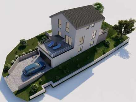 Wohnträume verwirklichen! Stilvoll geplantes EFH mit Keller inkl. Grundstück in Aach