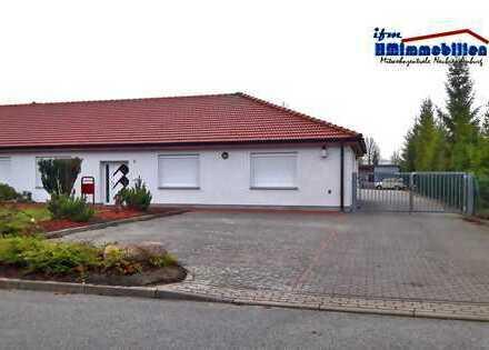 Interessantes Gewerbeobjekt mit Büros, Werkstatt, Garage und großer Freifläche,2.266 m² Grundstück