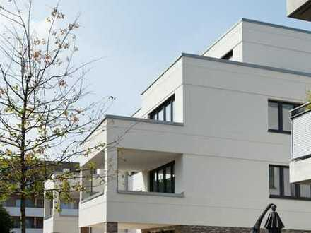 LIVE IN Düsseldorf- Unterrath: 4-Zi-Neubau- ETW im 2. OG (Lift). 2 Bäder. Parkett. EBK inklusive!