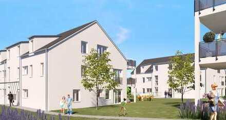 ETW 18/Haus C * Hübsche 2-Zi.-Neubauwohnung mit Terrasse und Gartenanteil