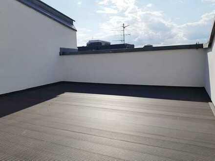 Maisonette mit großer Süd-West-Terrasse, EBK und Aufzug - Mietbeginn 01.10.
