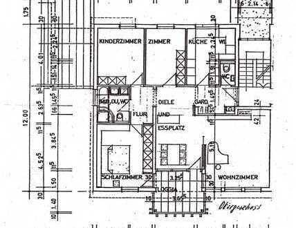 Sonnige fünf Zimmer Wohnung in Stuttgart - Sonnenberg