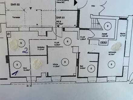 2 WG Zimmer jeweils ca. 11 m²