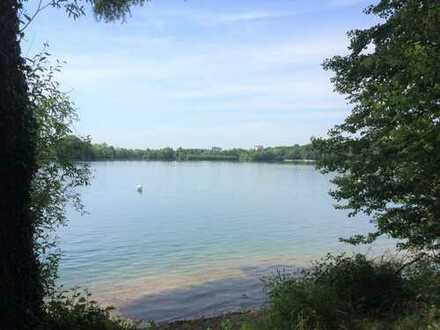 Penthouse-Wohnung am See mit Traumblick