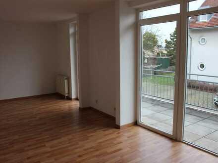 Schicke Appartementwohnung im 1.Obergeschoss mit großem Balkon zu vermieten !!!