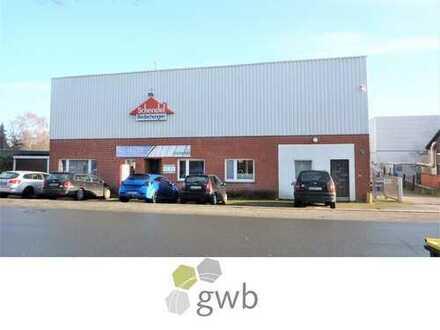 Attraktive Gewerbeflächen - Produktions-/Lagerhalle mit großzügigen Büroflächen/Gewerbegebiet Nord