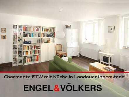 Charmante ETW mit Küche in Landauer Innenstadt!