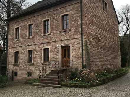 """Hermersberg, """"Alte Mühle"""" mit 5 ZKB, Tageslichtbad, 2 Stellplätze, Kamin, Gäste WC"""
