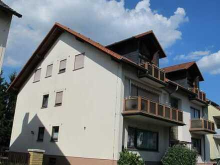 Attraktive 3-Zimmer-Erdgeschosswohnung mit Balkon in Hochheim am Main