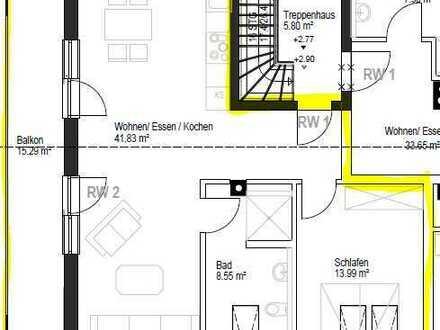 Helle 2-Zimmer-Wohnung in ruhiger Wohnlage