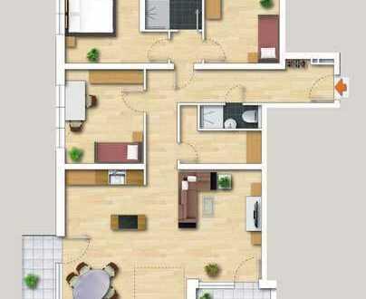Viel Platz für die Familie - Großzügige 4,5 Zi-Obergeschosswohnung inkl. Gartenanteil