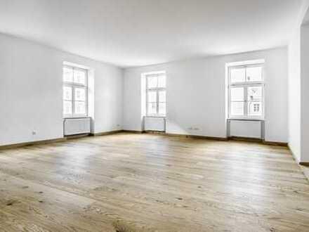 Renovierte 3-Zi.-Wohnung mit Blick auf die Landshuter Altstadt, mit Balkon