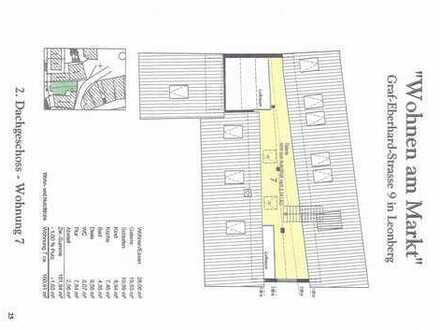 Sanierte 4-Zimmer-Maisonette-Wohnung mit Einbauküche in Leonberg