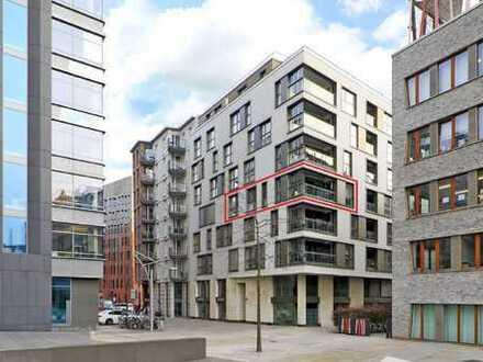 Sehr schöne, zentral gelegene 3-Zimmer-Wohnung mit Blick in den Sandtorpark und in den Hist. Hafen