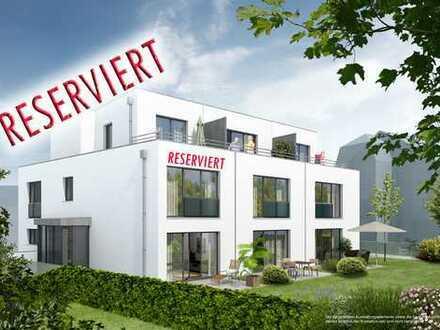 Eckhaus mit Erker, Terrasse - Garten, Studio mit Dachterrasse