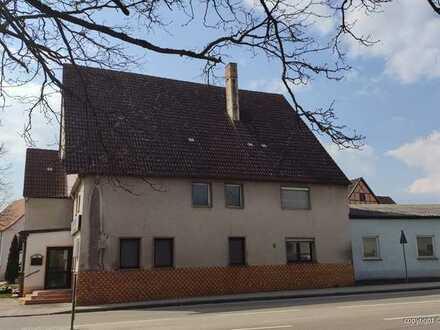 Ehemaliger Gasthof mit Fremdenzimmern in Herrieden/ Neunstetten mit Potential (Sanierungsbedürftig)