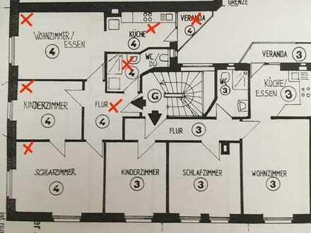 Stilvolle, sanierte 3,5-Zimmer-Wohnung mit Balkon und EBK im Stuttgarter Lehenviertel