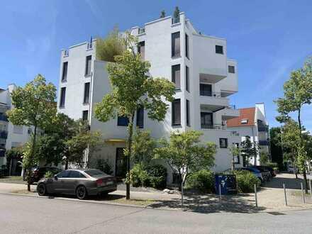 Moderne 4-ZI-Maisonettewohnung mit Wohnwert eines Reihenhauses in verkehrsgünstiger Lage - Erbpacht