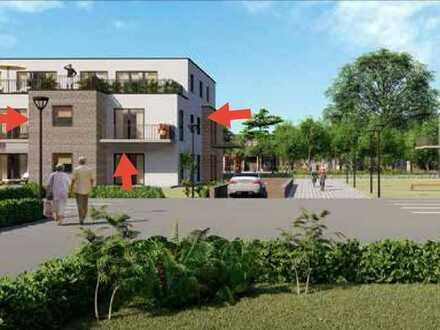 !! ERSTBEZUG !! 3 Zimmer Obergeschoss-Wohnung mitgroßem Balkon und Tiefgaragenstellplatz