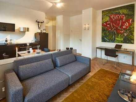 Möbliertes Design Apartment in einer der schönsten Immobilien Badens