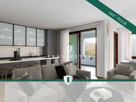 Schön geschnittene 2-Zimmer Wohnung in begehrter Lage