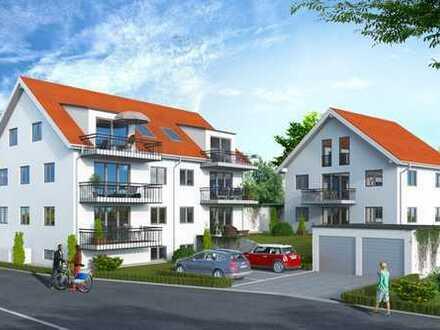 Jetzt schnell sein: Die letzten fünf Einheiten in einem Neubau-Mehrfamilienhaus in Freising.
