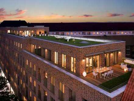 2-Zimmer-Wohnung mit Terrasse und Dachgarten