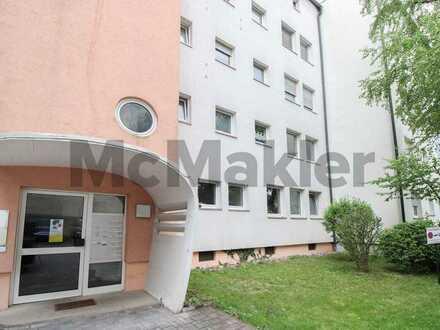 Geräumig, gepflegt, zentral: Helle 3-Zi.-ETW mit Balkon & Garage im Stadtjägerviertel - Erbpacht