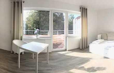 Hattingen-Niederwenigern! Komfortable 1,5-Zimmer möblierte Mietwohnung mit Balkon zu vermieten!