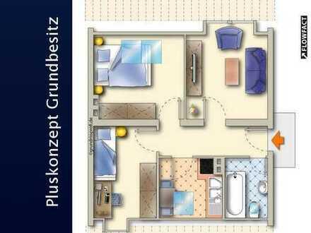 Dachgeschosswohnung mit PKW-Stellplatz!