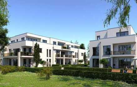 Erstbezug Neubau 3-Zimmer-Wohnung mit 2 Terassen und eigenem Garten