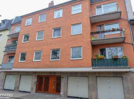 2-Zimmer-Eigentumswohnung mit 2 Balkonen. In Neuss Innenstadt! Stadtgarten-Nähe!