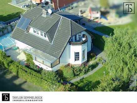 Vielseitiges Einfamilienhaus mit Garage, Sonnengarten und Pool in Beetzseenähe