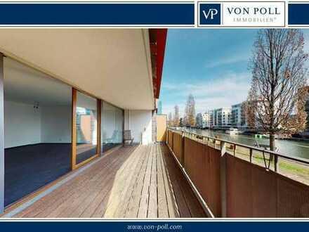 Moderne Wohnung in direkter Mainlage