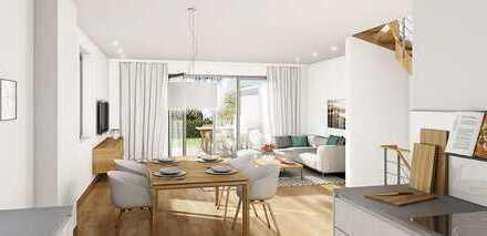 TOWNHOUSE 3 - 4,5 Zimmer über drei Geschosse mit Gartenteil