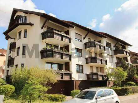 Renovierte 1-Zi.-ETW mit Balkon in vorteilhafter Lage in Pforzheim - Erbbaurecht