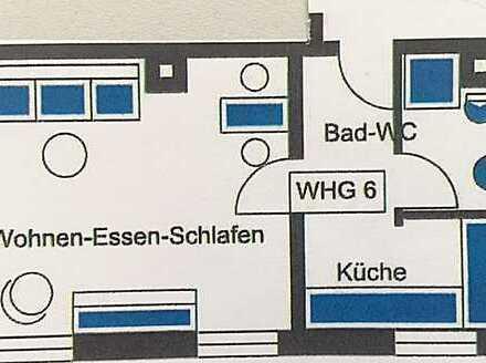 Schnucklige 1,5-Zimmer-Wohnung in kernsaniertem Denkmalhaus