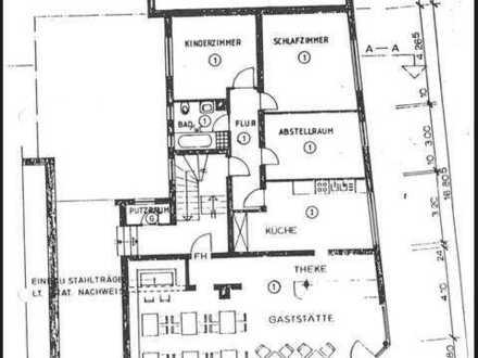 Gewerbefläche + Wohnung Optimal als Einzelhandel/Shop/Büro/Studio