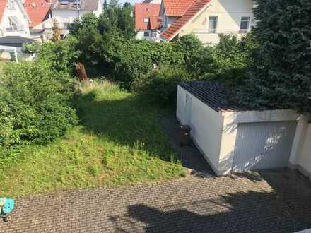 Bauplatz in 2. Reihe plus 1-2 Familienhaus in sonniger Stadtlage