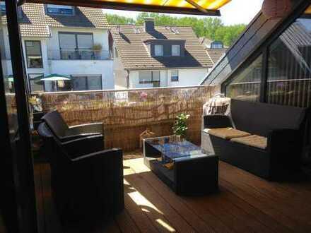 Gepflegte 3,5-Zimmer-Maisonette-Wohnung mit Balkon und EBK in Rhein-Sieg-Kreis