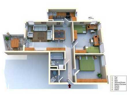 Selbstbezug oder Kapitalanlage: Freie 3 Zimmer Wohnung Stauffenbergring 9