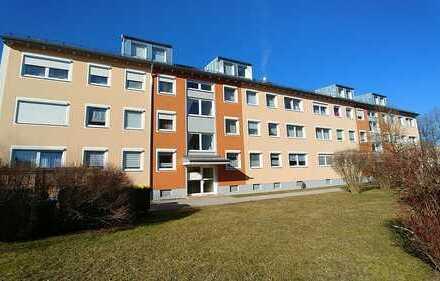 Helle 2-Zimmer-Erdgeschoss-Wohnung mit Balkon in Kissing