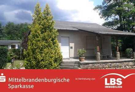 Ferienhaus auf Bauerwartungsland in Brandenburg