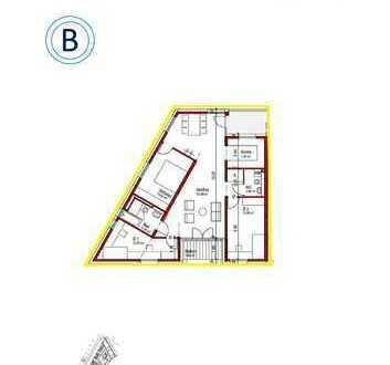 Hochwertige 4-Zimmer-Wohnung im Stadtteil Enzenhardt