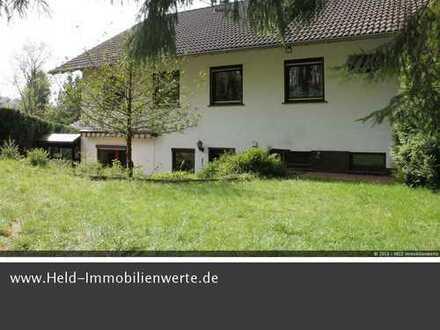 10.000 qm Anwesen in Ortsrand-Ruhelage für Familien u. Naturliebhaber.