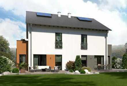 ......das ist mein Doppelhaus - für den Profihandwerker KFW 40